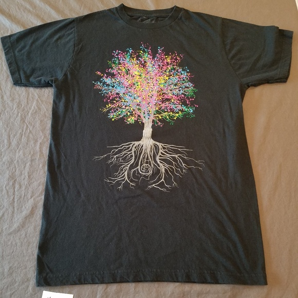 abf76c930 Threadless Brand Music Note Tree Graphic Tee. M_5b42a522f63eea069ddc0ab8